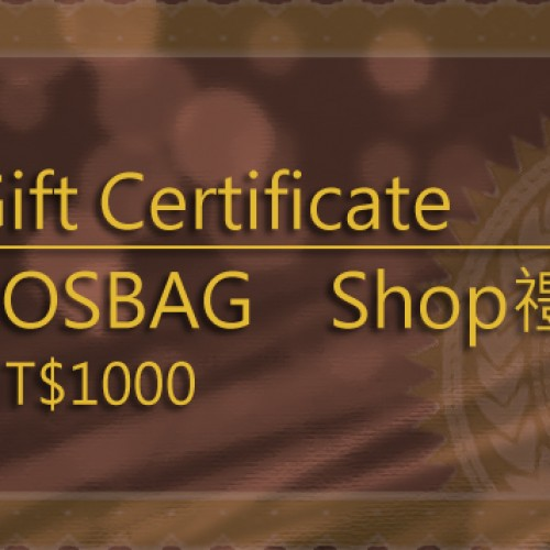 gift certificate1000